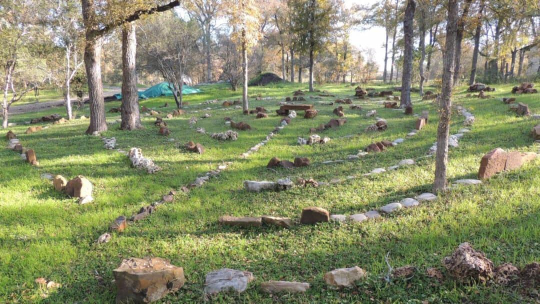 Bastrop Botanical Gardens Labyrinth